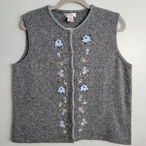 Northern Reflections   Large   Embroidered Vest